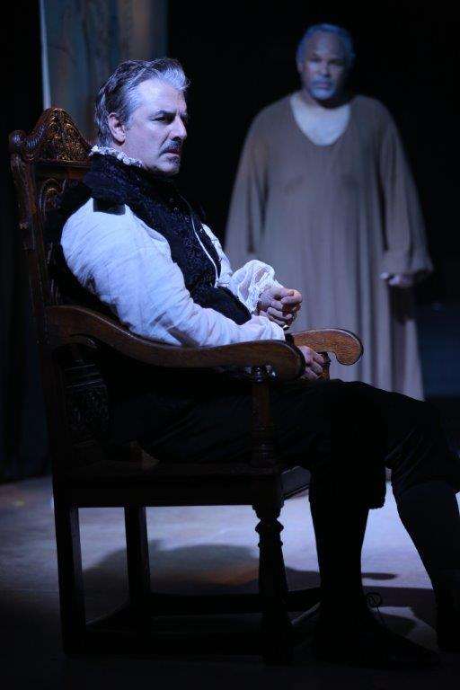 Chris Noth in DOCTOR FAUSTUS   Photo by Joan Marcus