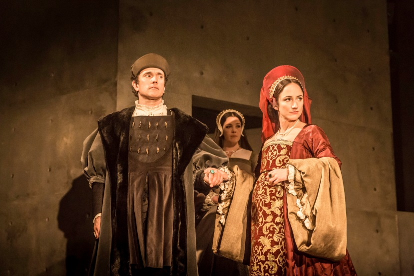 WOLF HALL by Mantel,                      , Author - Hillary Mantel, Director - Jeremy Herinn, Designer - Christopher Oram, Lighting Paule Constable, The Royal Shakespeare Company, 2014, Credit: Johan Persson/