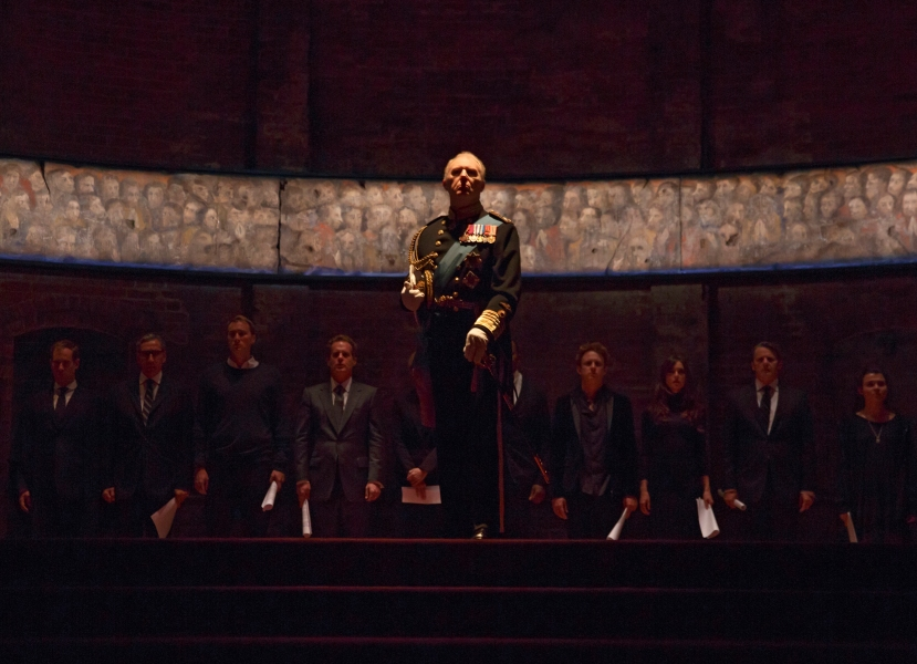 King Charles III Music Box Theatre TIM PIGOTT-SMITH ANTHONY CALF OLIVER CHRIS RICHARD GOULDING NYASHA HATENDI ADAM JAMES MARGOT LEICESTER MILES RICHARDSON TOM ROBERTSON SALLY SCOTT TAFLINE STEEN LYDIA WILSON